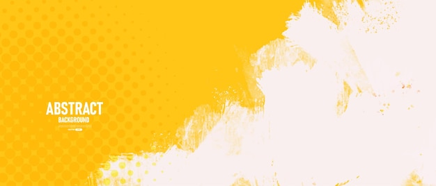 Abstrait jaune avec texture grunge