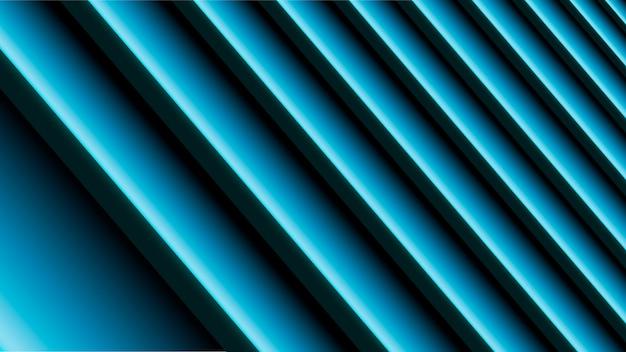 Abstrait avec des lignes bleues et noires