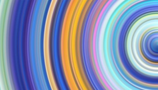 Abstrait de lignes brillantes