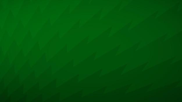 Abstrait de lignes brisées dans les tons de vert