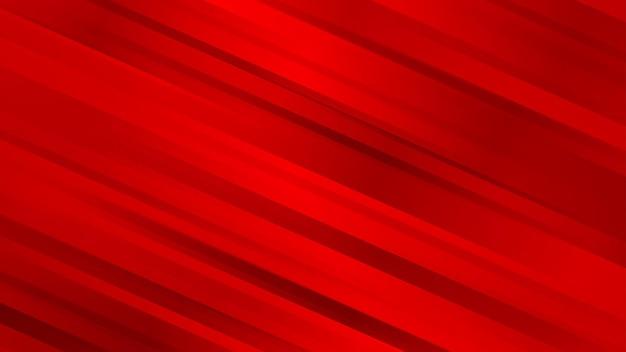 Abstrait avec des lignes diagonales en couleurs rouges