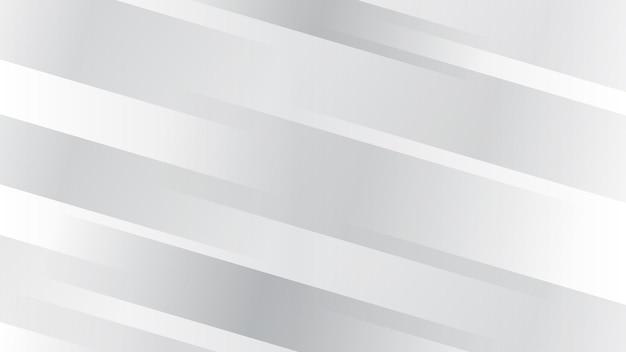 Abstrait avec des lignes diagonales dans des couleurs blanches et grises