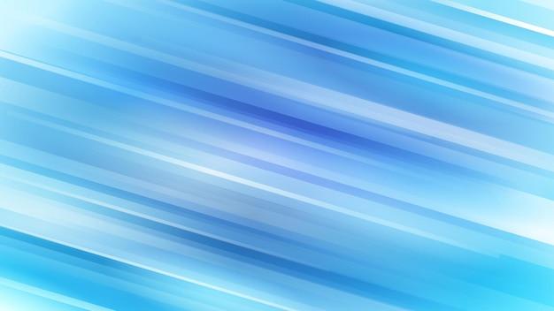 Abstrait avec des lignes diagonales dans des couleurs bleu clair