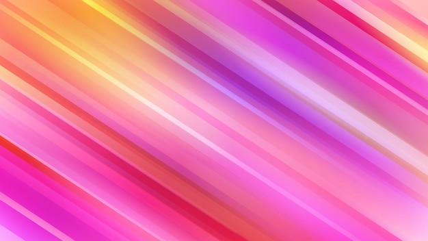 Abstrait avec des lignes diagonales dans les couleurs rouges et violets