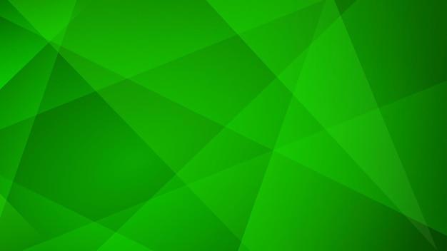 Abstrait de lignes droites en couleurs vertes