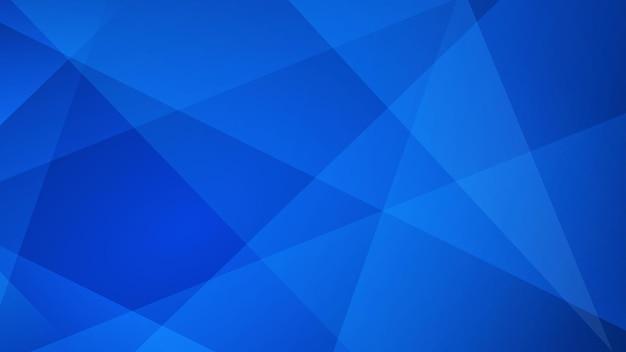 Abstrait de lignes droites dans des couleurs bleues