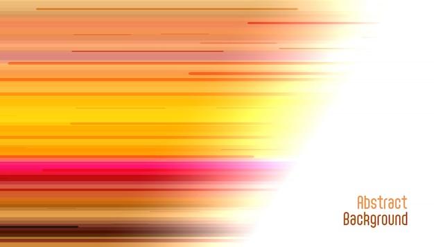Abstrait de lignes droites de mouvement lumineux