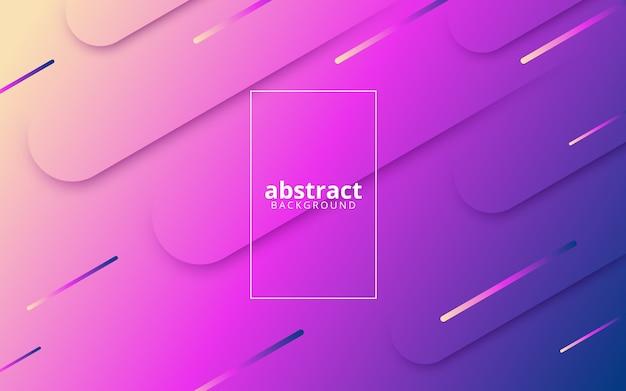 Abstrait avec des lignes dynamiques diagonales
