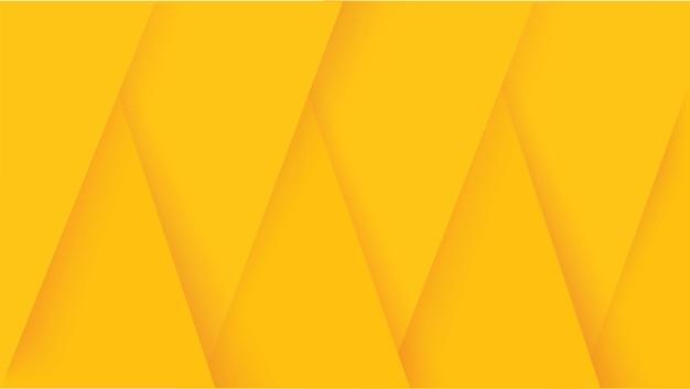 Abstrait de lignes jaunes modernes