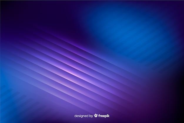 Abstrait de lignes lumineuses au néon