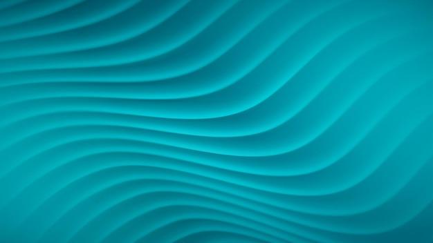 Abstrait avec des lignes ondulées dans des couleurs bleu clair