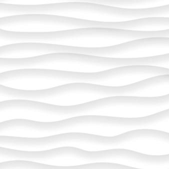 Abstrait de lignes ondulées avec des ombres dans des couleurs blanches et grises