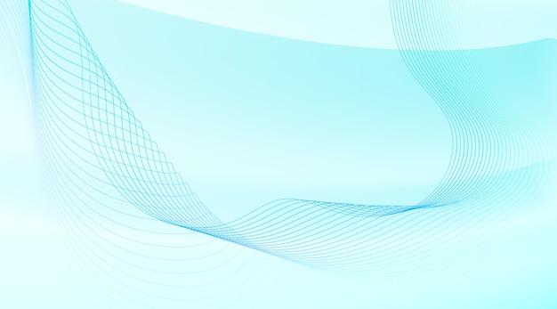 Abstrait avec des lignes ondulées