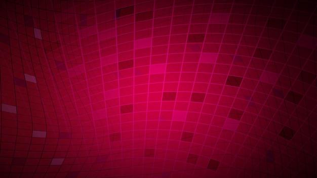 Abstrait de lignes et de rectangles en couleurs rouges