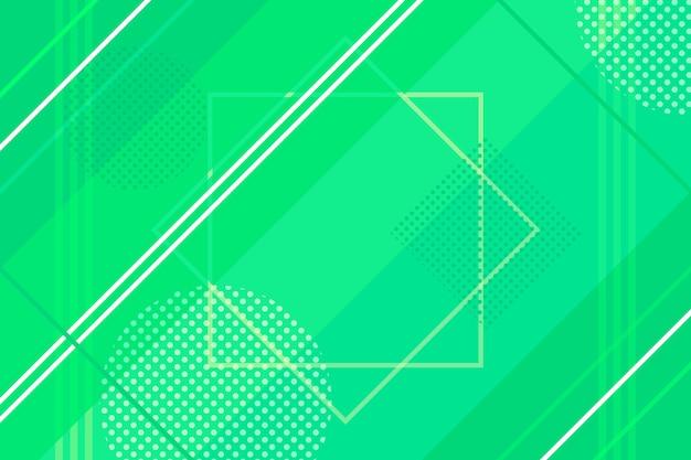 Abstrait avec des lignes vertes