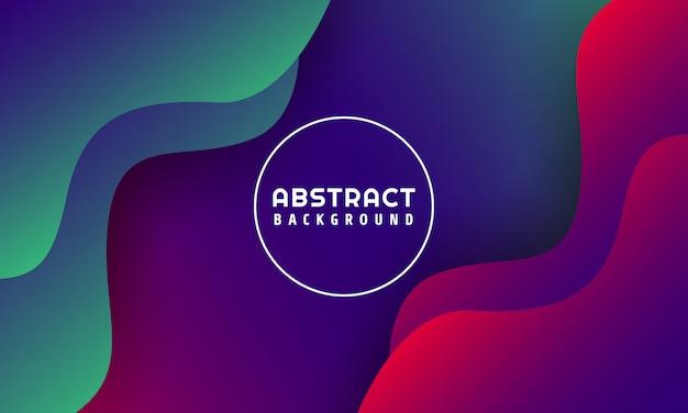 Abstrait liquide formes abstraites