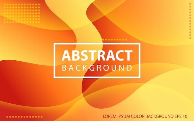 Abstrait liquide ondulé coloré