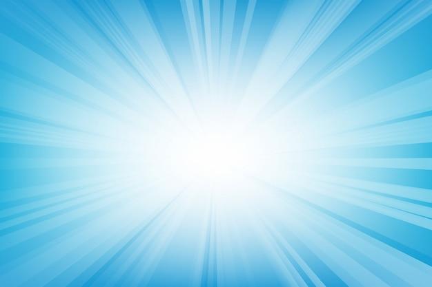 Abstrait lisse perspective bleu clair