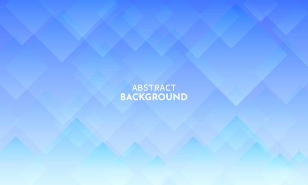 Abstrait De Losange Avec Dégradé De Couleur Bleu Vecteur Premium
