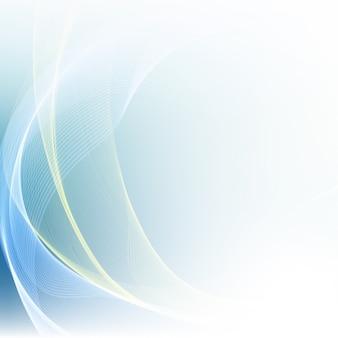 Abstrait, lumière bleue, couleur, vague, fond