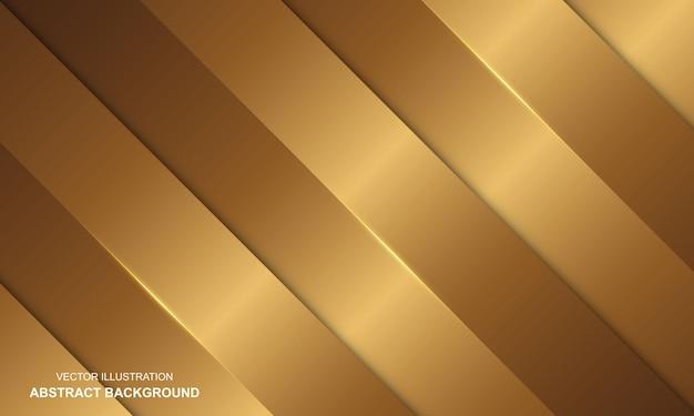Abstrait luxe doré