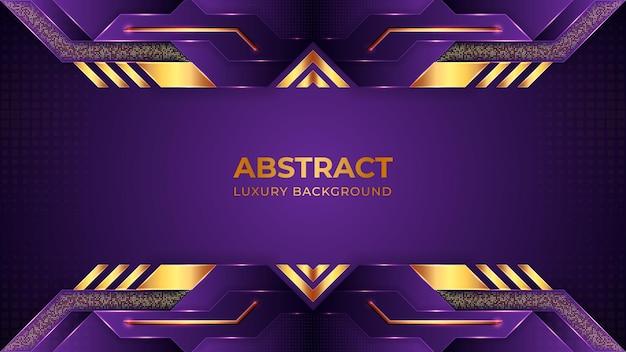 Abstrait de luxe violet, concept de papier peint moderne
