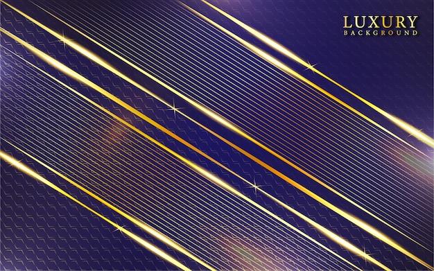 Abstrait de luxe violet et or