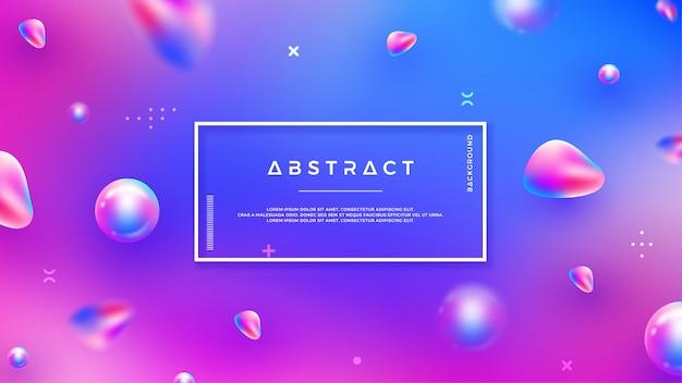 Abstrait avec mélange de couleurs