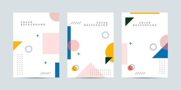 Abstrait memphis cover