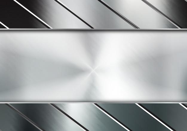 Abstrait métal