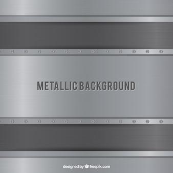 Abstrait métallique