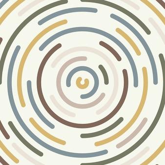 Abstrait minimal ligne ronde forme élément modèle oeuvre fond.