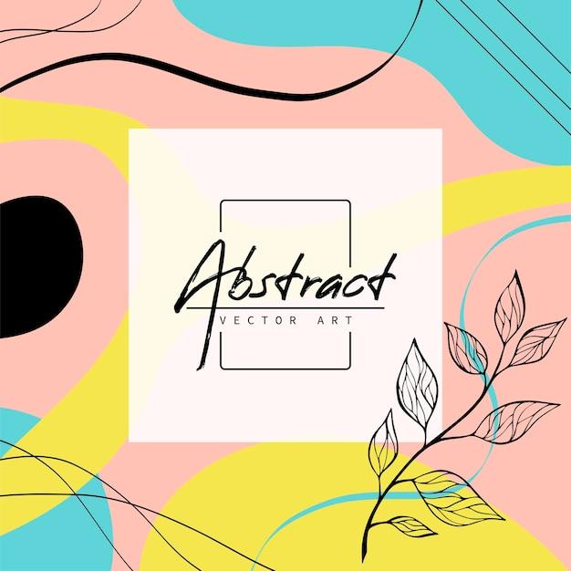 Abstrait. modèle de conception moderne dans un style minimal. couverture élégante pour la présentation de la beauté, la conception de la marque.
