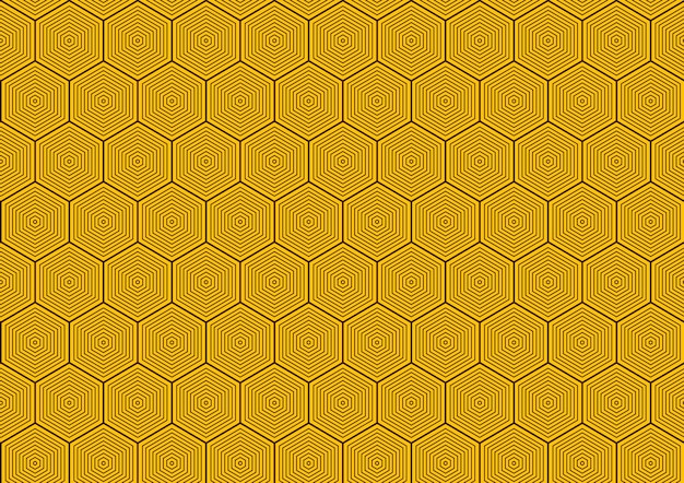 Abstrait de modèle sans couture hexagonale.