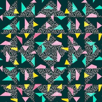 Abstrait de modèle triangle sans soudure