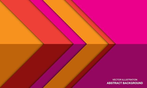 Abstrait moderne coloré