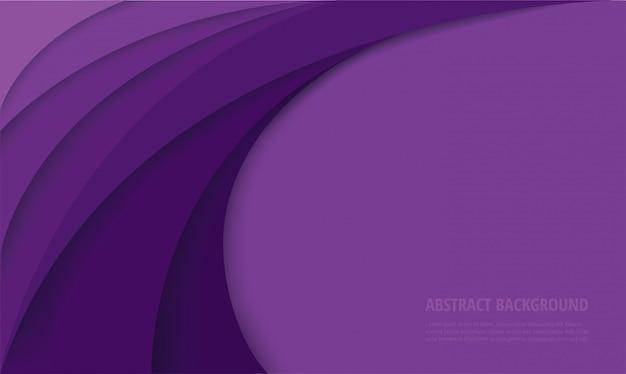 Abstrait moderne courbe violet