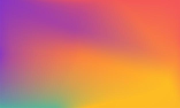 Abstrait moderne avec dégradé coloré flou modèle de conception de couleurs lisses