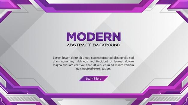 Abstrait moderne dégradé violet
