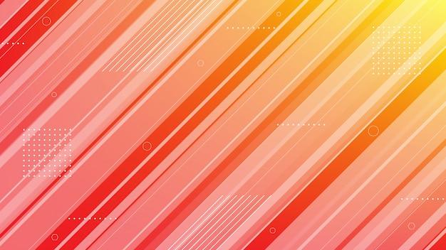 Abstrait moderne avec élément de ligne diagonale et dégradé de couleur.