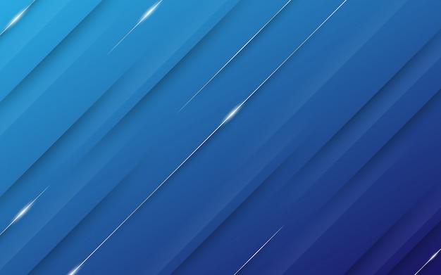 Abstrait moderne avec des éléments de lignes diagonales et un dégradé de bleu pastel coloré avec un thème de technologie numérique.