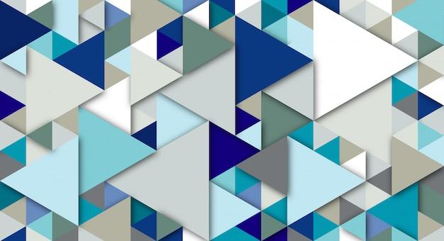 Abstrait moderne avec des éléments de triangle. fond aux couleurs rétro pour affiches, bannières et sites de pages de destination.