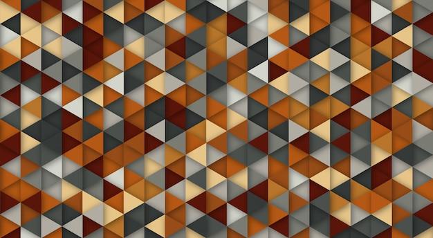 Abstrait moderne avec des éléments de triangle