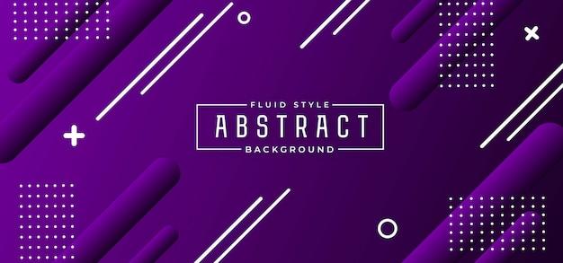 Abstrait moderne fluide
