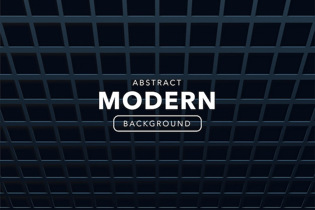 Abstrait moderne avec des formes 3d