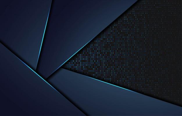 Abstrait moderne avec des formes gpolygonales