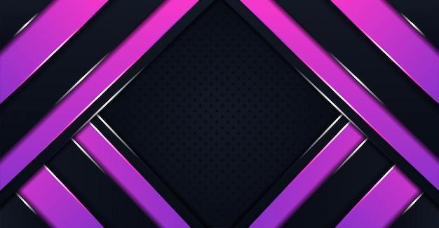 Abstrait moderne avec des formes polygonales