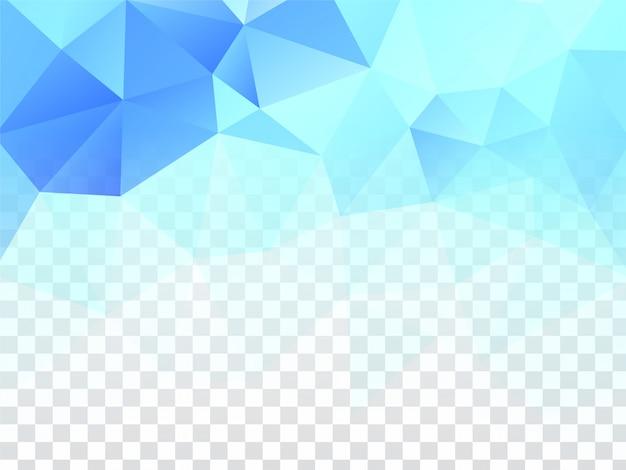Abstrait moderne géométrique transparent