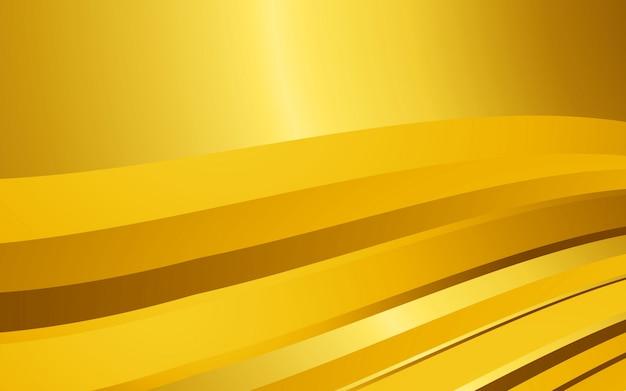 Abstrait moderne graphique couleur dorée