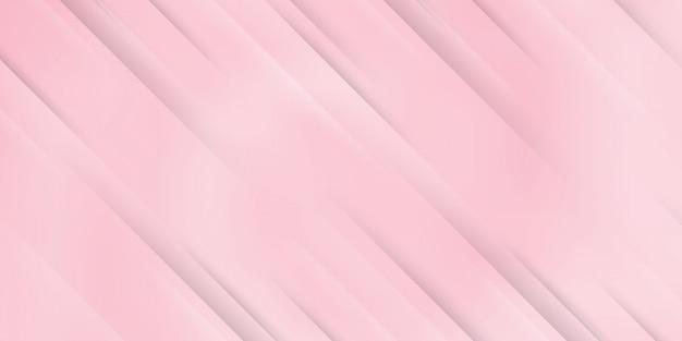 Abstrait moderne avec des lignes diagonales ou des rayures et un dégradé pastel de couleur rose blanc avec un thème de technologie numérique.